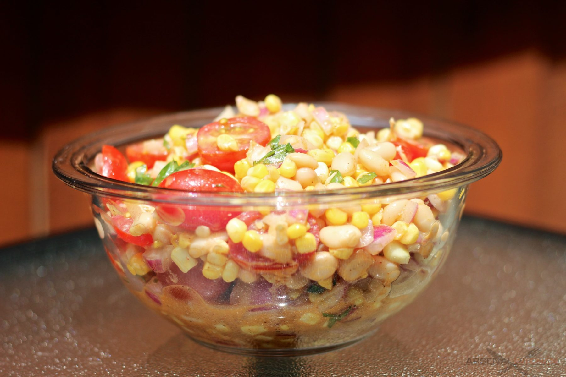 Ancho Chili Corn Salad