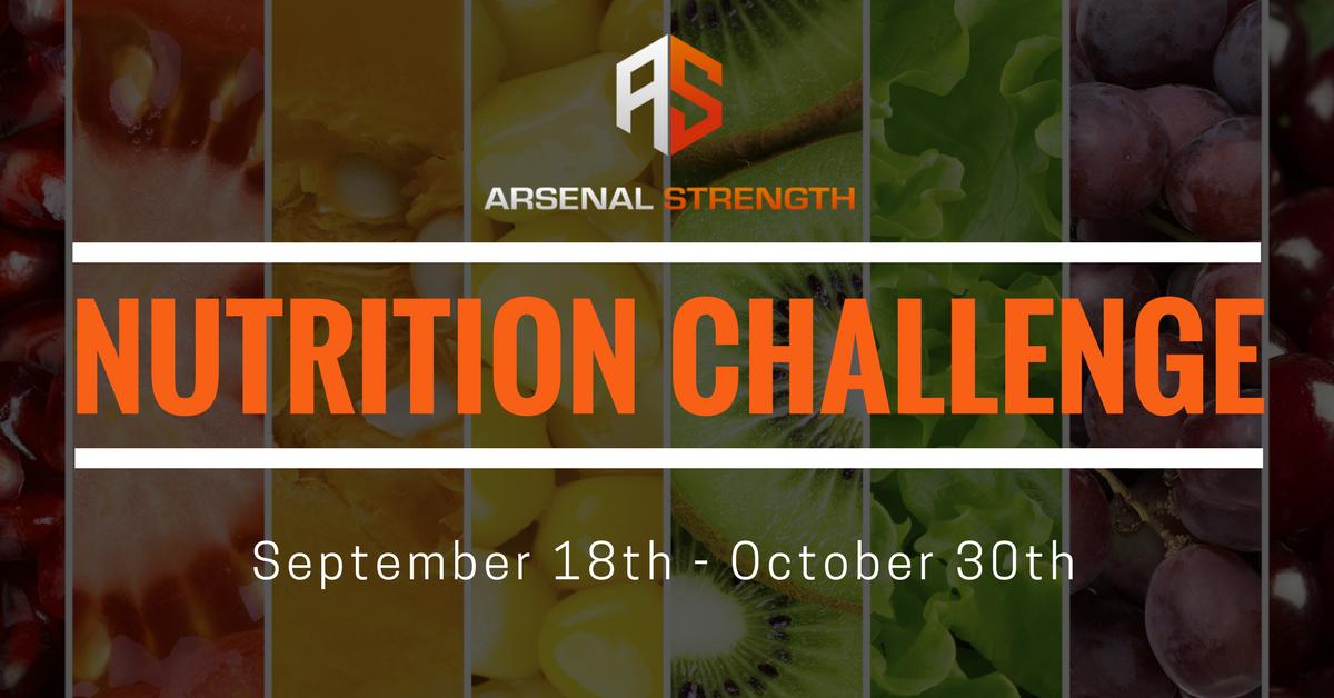 6-week Nutrition Challenge!