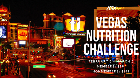 2018 Vegas Nutrition Challenge