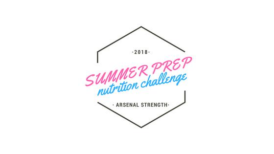 Summer Prep Nutrition Challenge