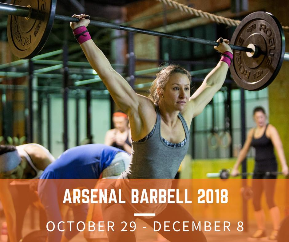 Arsenal Barbell 2018