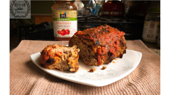 Italian Herb Marinara Meatloaf