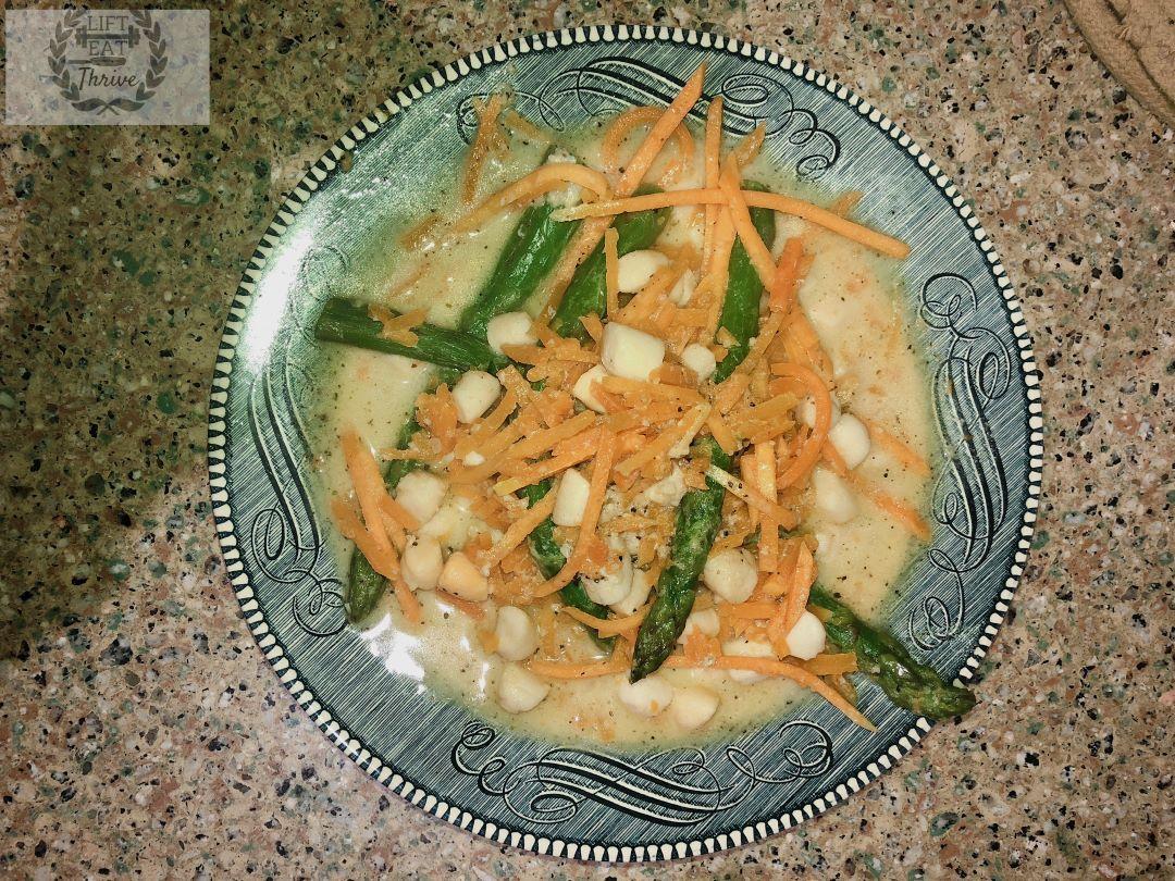 "Butternut Squash Seafood ""Pasta"""