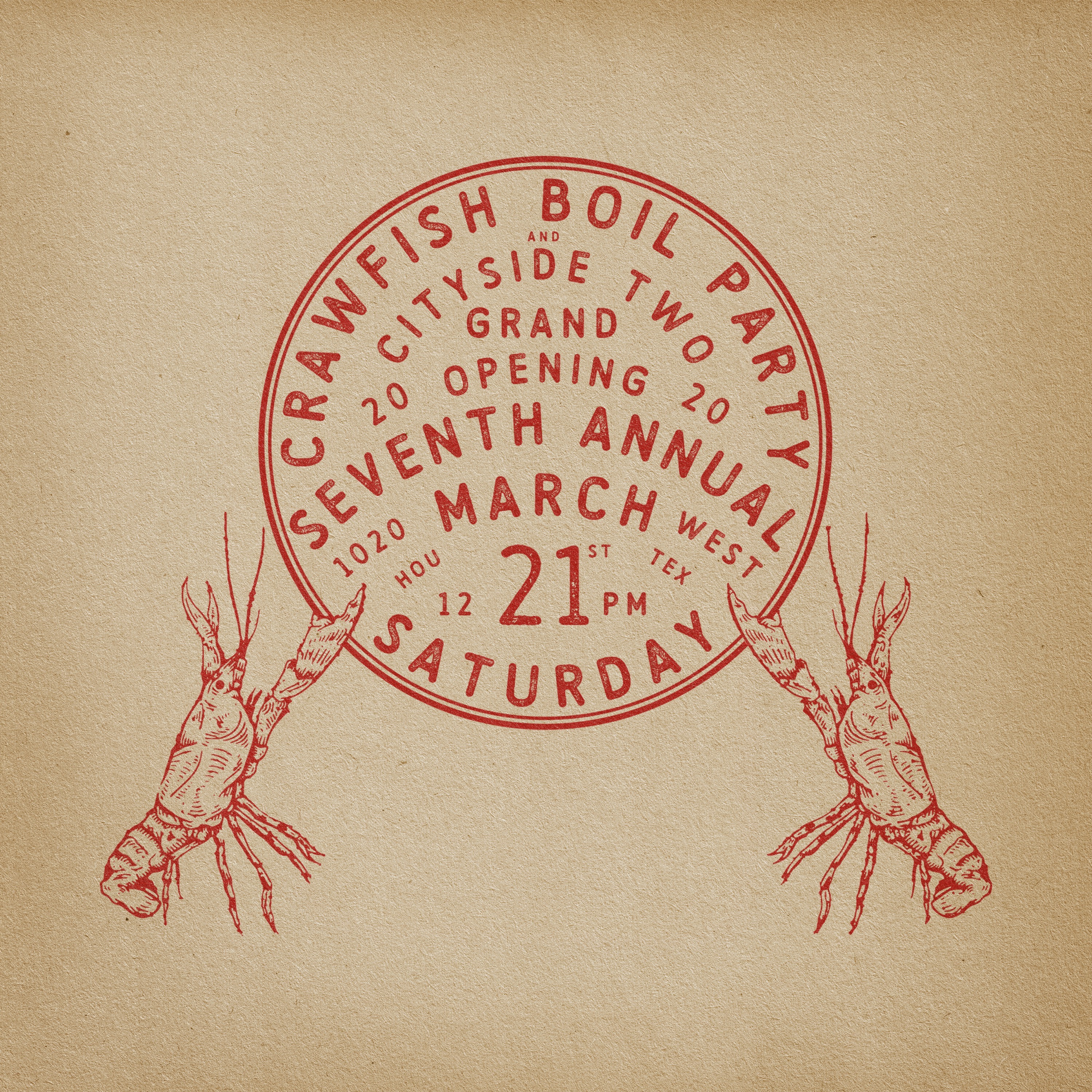 7th Annual Crawfish Boil + Grand Opening Party