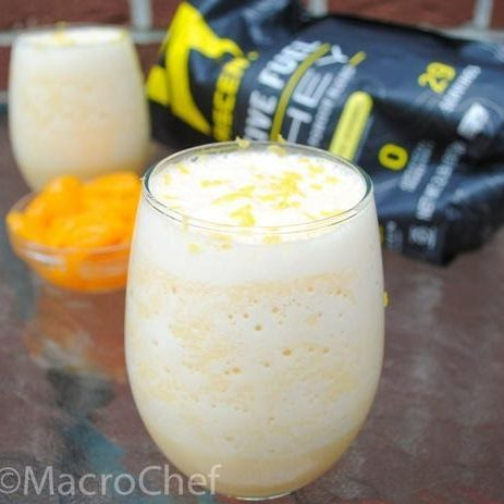 Orange Creamsicle Protein Smoothie