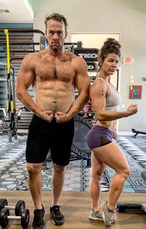 Trevor James and Mandy Drummond