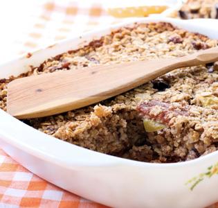Baked Oatmeal Cobbler