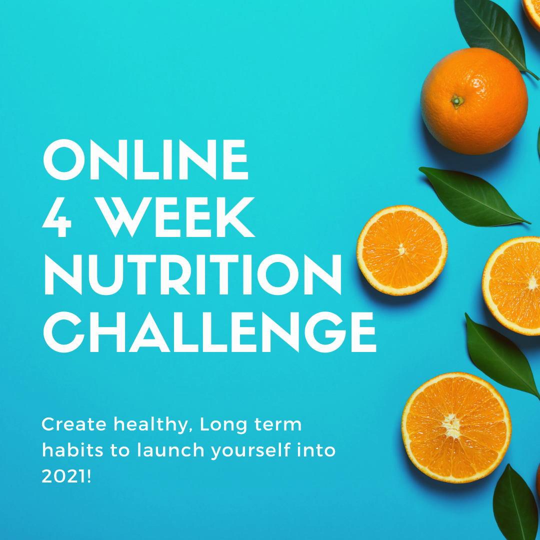 On-Line 4 Week Nutrition Challenge (for Anyone!)