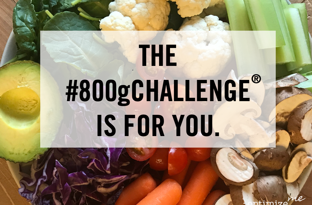 JOIN THE #800gCHALLENGE®