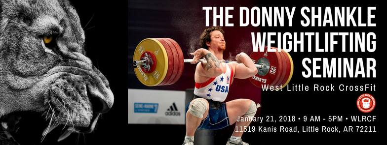 Donny Shankle Weightlifting Seminar