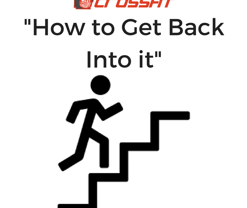 """How to Get Back Into it"""