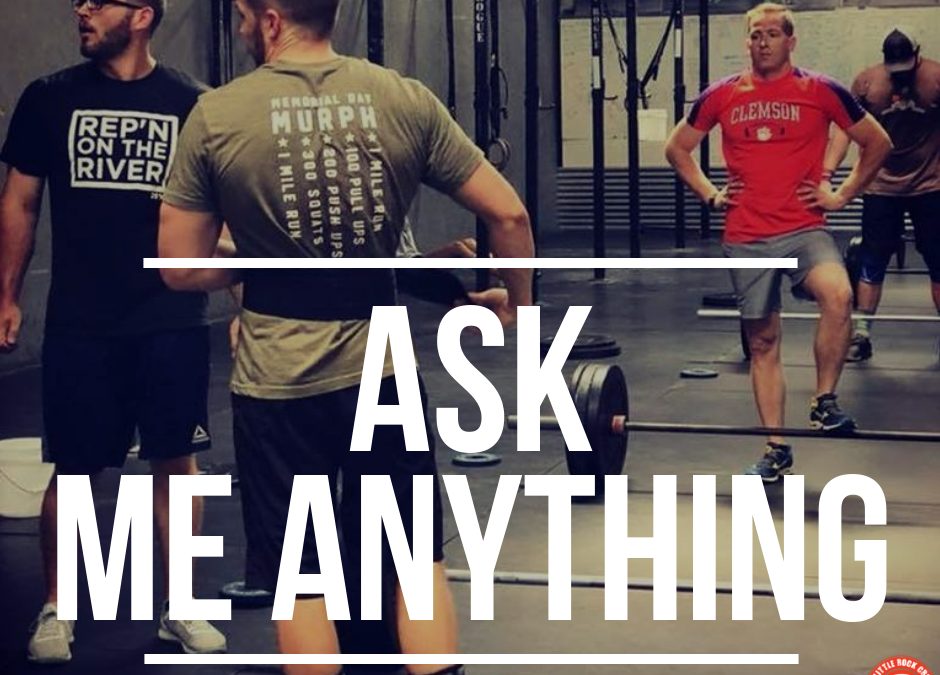 Ask Me Anything: Soreness