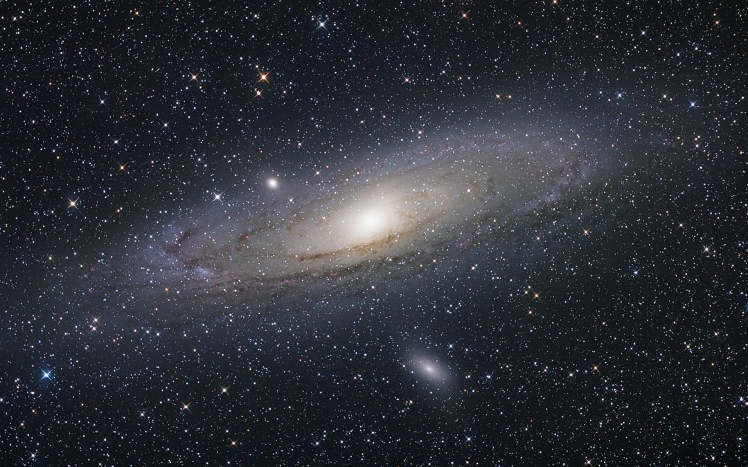 Lunch at the Andromeda Galaxy