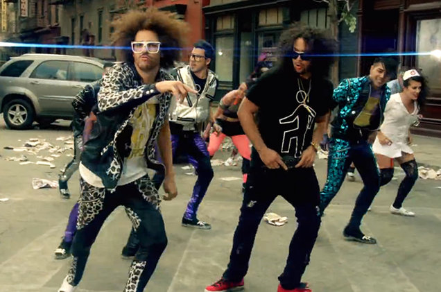 THROWBACK WEEK–PARTY ROCK IS IN THE HOUSE