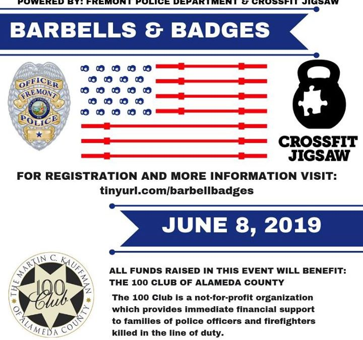 Barbells and Badges Competition